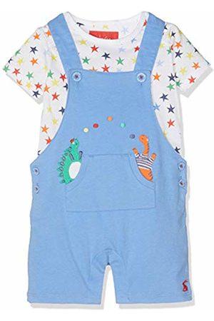 Joules Baby Boys' Wade Clothing Set Dino Star Dungaree Bludinstar