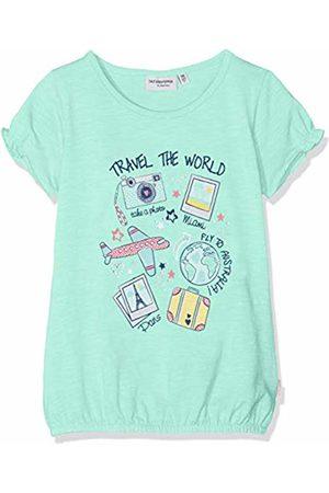 Salt & Pepper Salt and Pepper Girls' T-Shirt Sunshine Print Studs Grün (Ice 631)