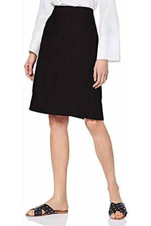 Noa Noa Women's Basic Linen Skirt, ( 0)