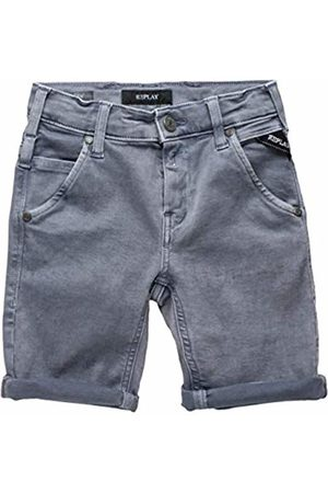 Replay Boys' SB9628.051.8166197 Shorts Grau (Iron 140) 15 Years