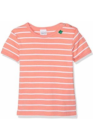 Green Cotton Girls' Stripe T Baby Blouse (Coral 016163201) 86