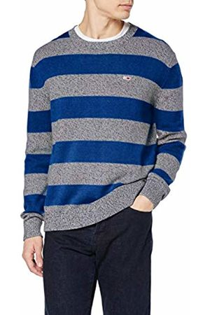 Tommy Hilfiger Men's TJM Rugby Stripe Sweater Jumper