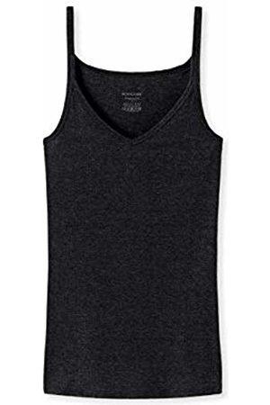 Schiesser Women's Personal Fit Spaghettitop Vest (Schwarz 000) 12 (Size: Medium)