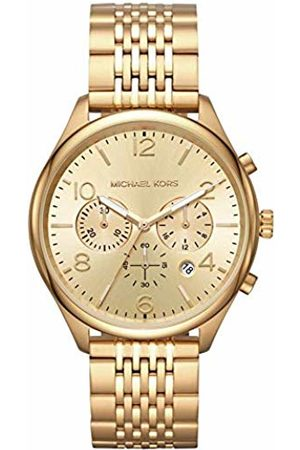 Michael Kors Mens Chronograph Quartz Watch with Stainless Steel Strap MK8638