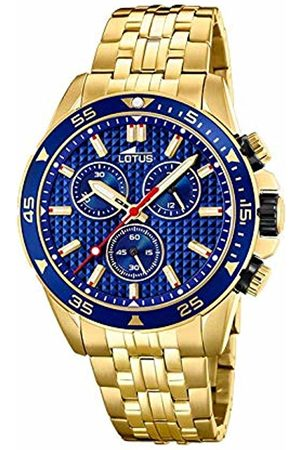 Lotus Mens Chronograph Quartz Watch with Stainless Steel Strap 18653/3