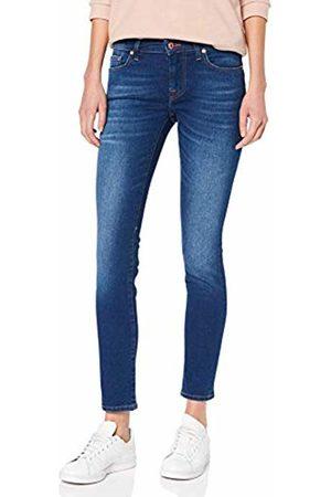 Seven for all Mankind Women's's Pyper Skinny Jeans (Slim Illusion Mar Vista 0fl) W30/L31 (Size: 30)