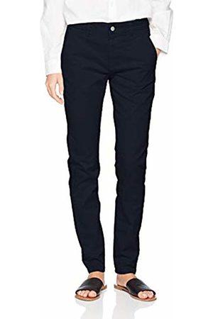 Selected Femme Women's Slfmegan Mw Chino Noos W Trouser, Navy Blazer