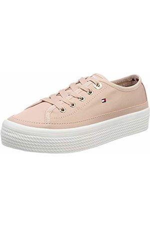 Tommy Hilfiger Women's Corporate Flatform Sneaker Low-Top 4 UK