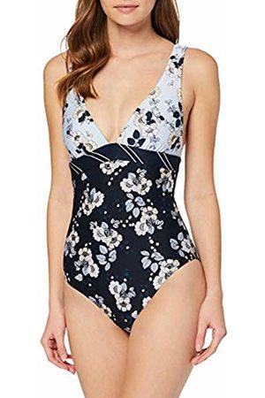 Seafolly Women's Splendour \v\ Neck Maillot Swimsuit