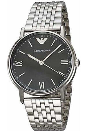 Emporio Armani Mens Analogue Quartz Watch with Stainless Steel Strap AR11152