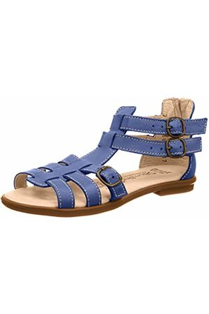 Däumling Girls'' Romana Ankle Strap Sandals Blau (Seta Jeans 36)