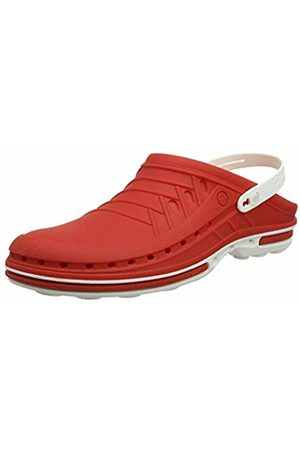 Wock Clog with Strap Professional Footwear - Sterilizable; Antistatic; Antislip; Shock Absorption - / - UK : 12.5 ; EUR : 47-48