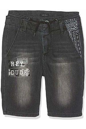 Kiss IKKS Boys' Bermuda Used KNITLOOK Shorts, Noir 98