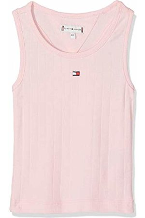 Tommy Hilfiger Girl's Solid Wide Rib Vest