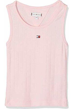 Tommy Hilfiger Girl's Solid Wide Rib Vest