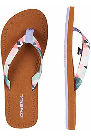 O'Neill Women's's Fw Woven Strap Sandals Ankle ( AOP W/ 1960)