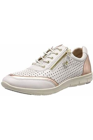 Caprice Women's's Flora Low-Top Sneakers (Offwhite/Rogo. 124) 6.5 UK