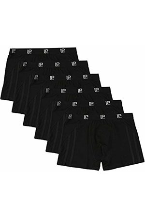 Lower East 6-Pack Men's Retro Boxer Shorts, elastic and figure accentuating/