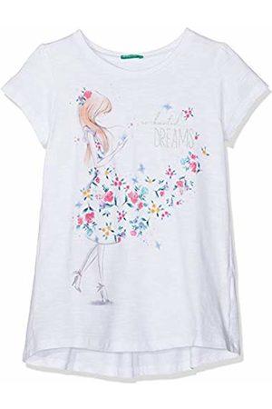Benetton Girl's T-Shirt (Bianco 101)