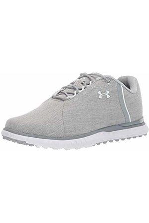 Under Armour Women's Fade SL Sunbrella Golf Shoes, (Overcast Gray/Steel/ 100)