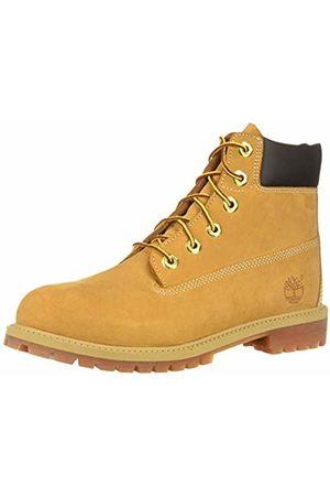 Timberland Nubuck Unisex Kids Boots, Yellow (Wheat yellow)
