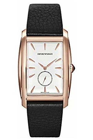Armani Mens Analogue Quartz Watch with Leather Strap ARS8351