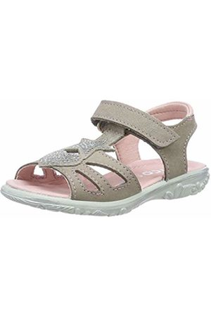 Ricosta Girls' Gina Ankle Strap Sandals (Taupe 659) 9 UK