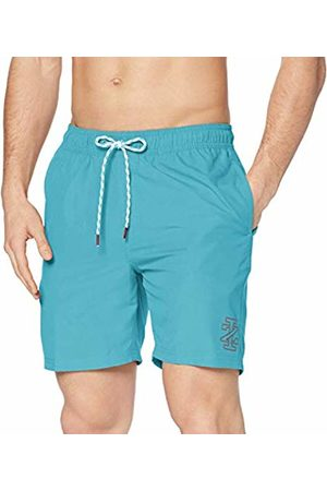 Izod Men's Solid Swim Trunk Shorts
