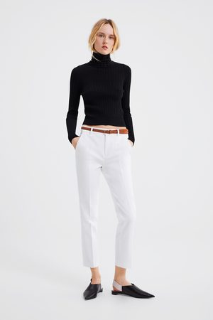 Zara Summer Women S Chinos Compare Prices And Buy Online