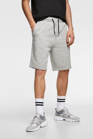 Zara Bermuda shorts with zips