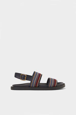 Zara Multicoloured strap sandals