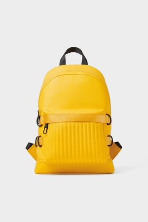 Zara Biker backpack with taping