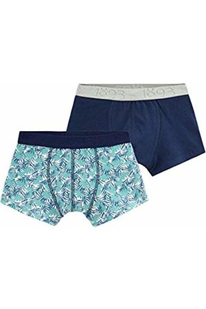 Petit Bateau Boys' Boxer_4810900 Shorts 10 Years Pack of 2