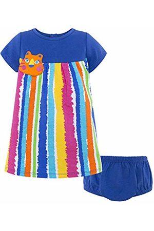 Tuc Tuc Baby Girls' Vestido Punto M/c Niña Animal Crew Dress