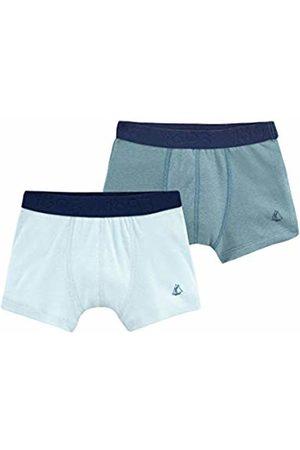 Petit Bateau Boys' Boxer_4863600 Shorts 6 Years Pack of 2