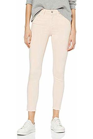 ONLY NOS Women's onlBLUSH MID SK ANK RAW Colour JEA NOOS Skinny Jeans, Peach Whip