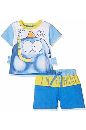 chicco Baby Boys' Completo T-Shirt Manica Corta + Pantaloncini Kniited Tank Top