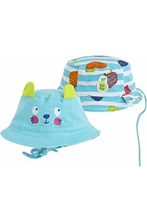 Tuc Tuc Boys Hats - Boy's Gorro Punto Reversible Niño Smoothies Flat Cap (Azul 16) 1 (Size: 46)
