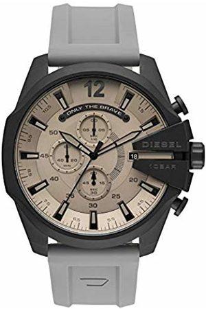 Diesel Mens Analogue Quartz Watch with Silicone Strap DZ4496