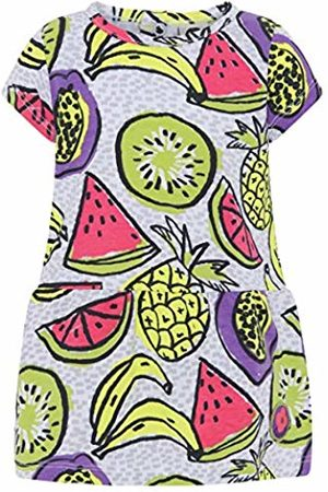 Tuc Tuc Baby Girls' Vestido Punto Estampado NIÑA Fruit Festival Dress, ( 6)