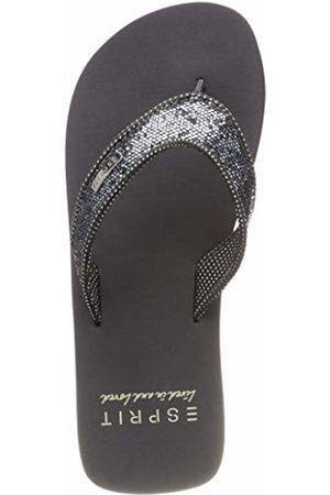 Esprit Girls'' Glitter Thongs Mules