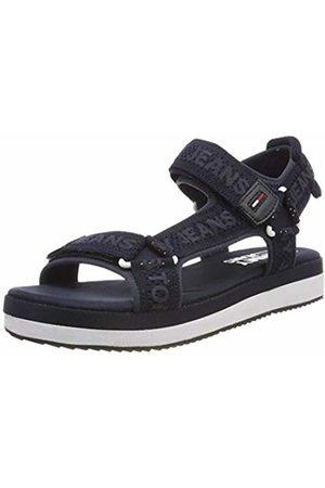 Tommy Hilfiger Women's Mesh Webbing Sporty Sandal Flip Flops