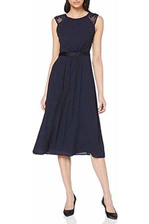 s.Oliver Women's 70.903.81.3172 Party Dress Blau (Deep Sea 5954) 12 (Herstellergröße: 38)