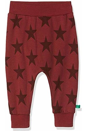 Green Cotton Baby Girls' Star Pants Trouser