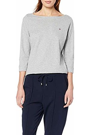 Tommy Hilfiger Women's Boat Neck Tee 3/4 Sports Jumper