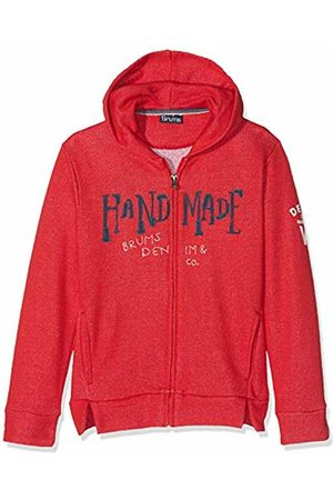 Brums Boy's Top Full Zip Felpina Melange Sports Hoodie