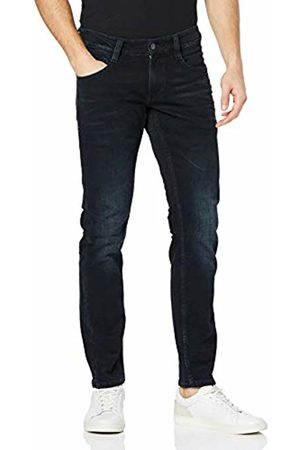 Mustang Men's Oregon Tapered Fit Jeans (Medium Dark 782) W34/L34 (Size:34/34)