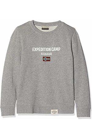 Napapijri Boy's K Bonthe C Med Sweatshirt, (Medium Mel 160)