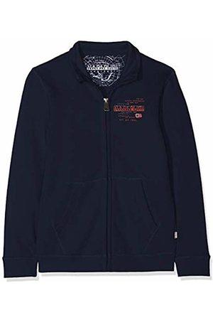 Napapijri Boy's K Beitem Fz Blu Marine Sweatshirt, 176