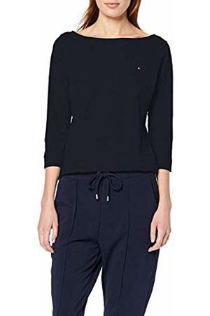 Tommy Hilfiger Women's's Boat Neck Tee 3/4 Sports Jumper